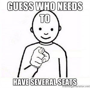 have several seats