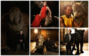 jungle book actors and characters