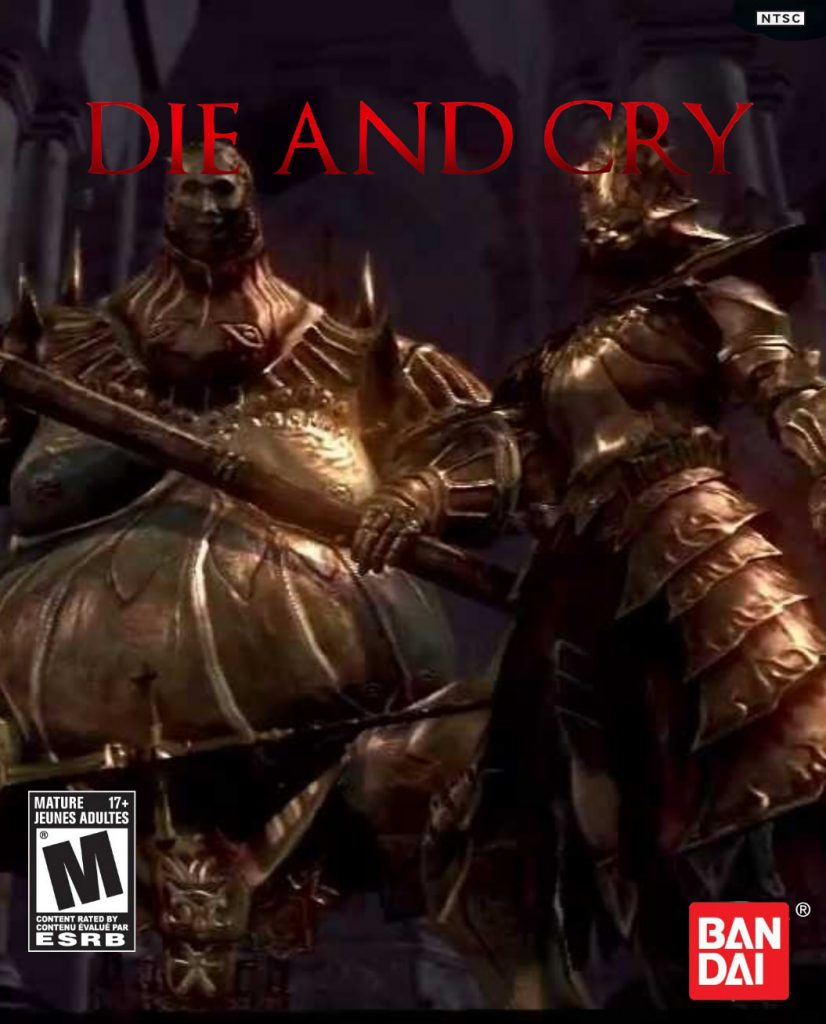 Dark Souls game cover Redesign