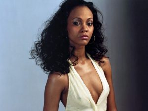 ca. May 2004 --- Zoe Saldana --- Image by © Andy Ryan/Corbis Outline